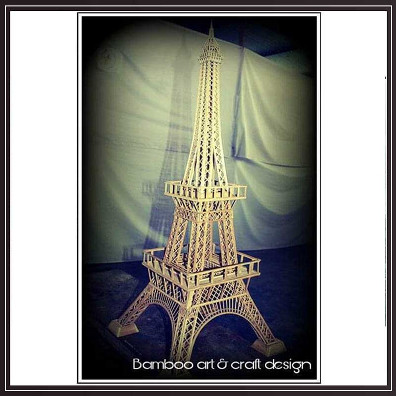 Bamboo Effel Tower